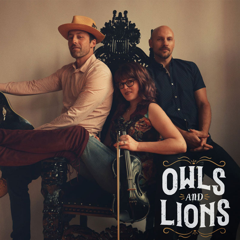 owls and lions CD cover