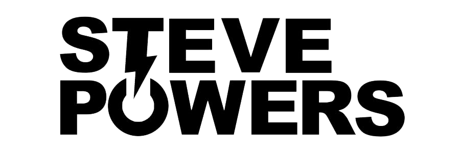 Steve powers logo