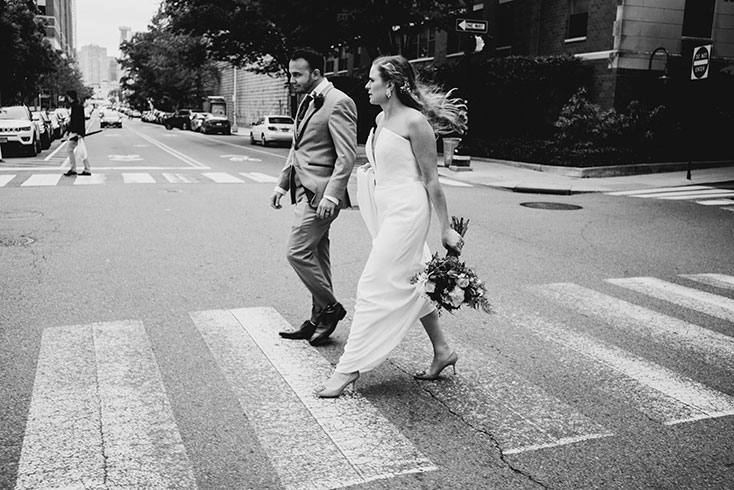 wedding walk